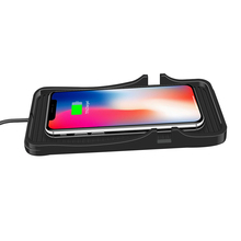 C7 Wireless Car Charger Pad Portable Universal Vehicle Accessories Dashboard Stand Anti Slip Fast Charging Phone Holder Silicone