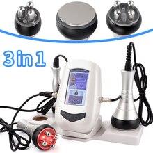 3 w 1 kawitacji ultradźwiękowy maszyna wyszczuplająca do ciała profesjonalnego częstotliwość radiowa RF odchudzanie skóry dokręcić urządzenie do odmładzania