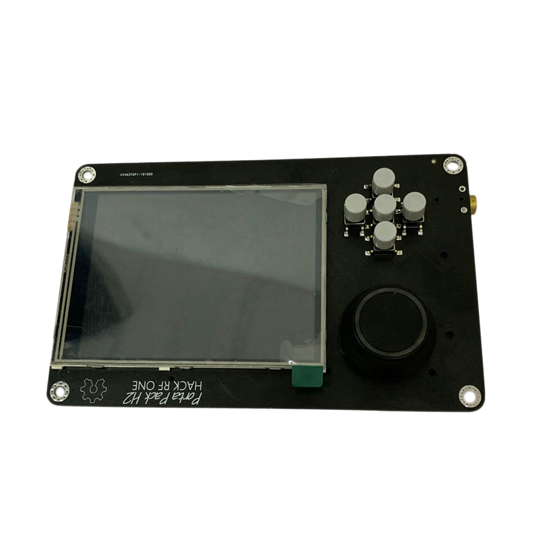 PORTAPACK H2 For HACKRF ONE SDR Software Defined Radio + 0.5Ppm GPS TXCO + 3.2 Inch Press LCD + 1500MAh Battery