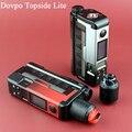 Оригинальный Dovpo Topside Lite 90 Вт Squonk TC комплект с Variant RDA Max 90 Вт Выход электронная сигарета Vape коробка Mod Kit Vs Drag 2/Gen/Topside Dual