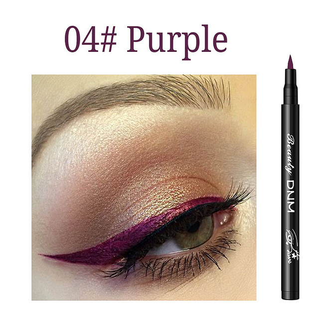 6 Color Long Lasting Eyeliner Pencil Waterproof Eyeliner Smudge-Proof Beauty Makeup Liquid Cosmetic Liquid Eyeliner Pencil 3