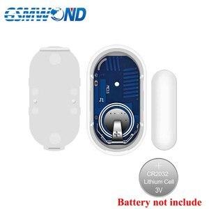 Nuevo Detector de apertura de puerta inalámbrica de 433MHz para sistema de alarma GSM, sensor de imán de puerta, antena integrada