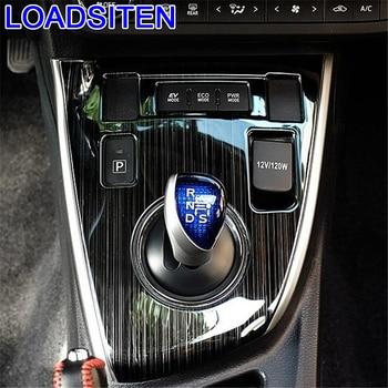 Automovil Chromium Decorative Cup Gear Panel Interior Accessory Modification Bright Sequins 14 15 16 17 18 FOR Toyota Corolla