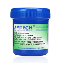 цена на AMTECH NC-218-ASM original solder paste Welding fluxes 100g Lead free soldering iron