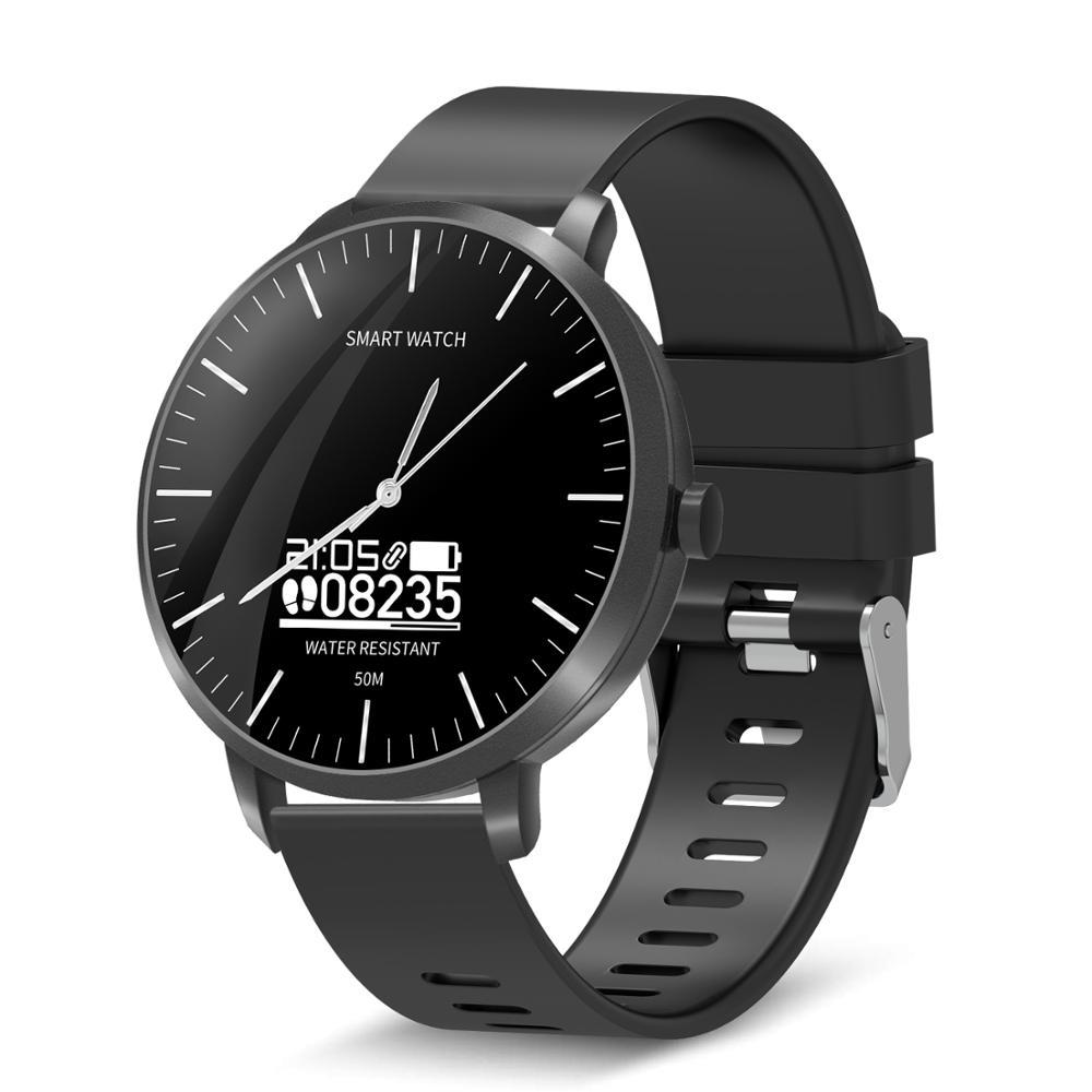 Reloj Inteligente para hombres y mujeres Reloj Inteligente Reloj de salud ritmo cardíaco Seguimiento de actividad presión arterial Monitor de sueño para niños Reloj Inteligente
