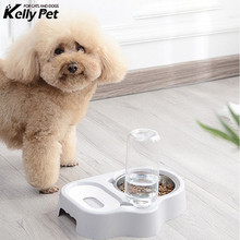 Cat Bowl Dog Water Feeder Bowl Cat Kitten Drinking Fountain Food Dish Pet Bowl Goods Water Dispenser Cats Dogs Feeding Bowls new dog cat bowls stainless steel food bowl travel feeding feeder water bowl anti skid dry food pet bowl drinking water dish