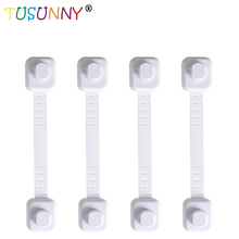 TUSUNNY 1/2/3pcs/Lot Drawer Door Cabinet Cupboard Safety Locks Baby Kids Care Plastic Straps Infant Protection