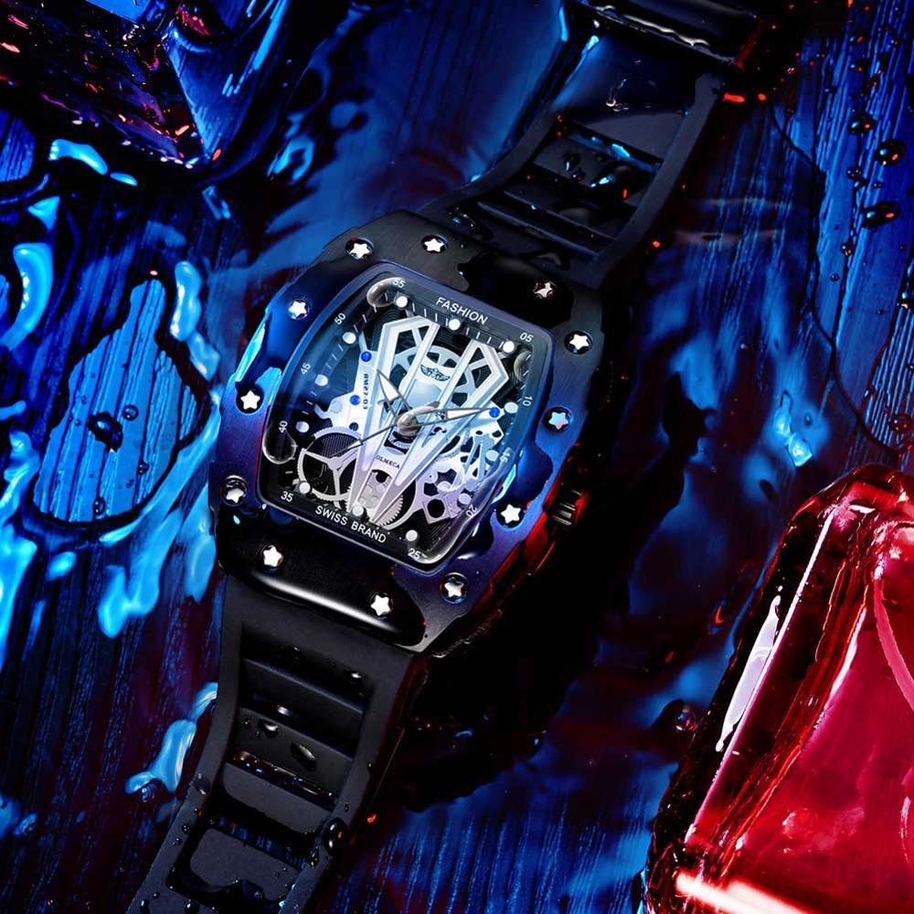 Relógios de Quartzo Relógios de Fábrica Masculino à Prova Novo Topo Masculino Esportes Multifuncional Relógio Dwaterproof Água 2019