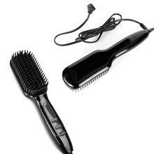 Многофункциональная электрическая расческа для волос выпрямитель