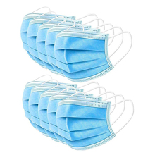 50pcs/Lot Disposable Mask Protective Mask Soft & Comfortable Filter Safety Face Mask for Dust Protection