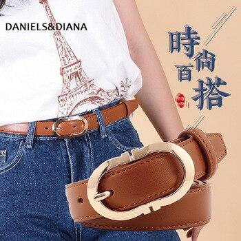 Vintage 1.9cm Wide Narrow Thin Snake Belt Female Pink Camel Ellipse Buckle Belt Snakeskin Animale Print Belts Women Jeans