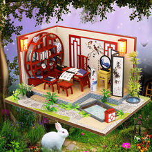 Doll House Diy 3d Wooden House Furniture Handcraft Miniature Box Creative House Birthday Gift Eudcational Toys#g4(China)