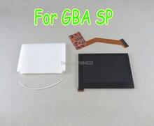 닌텐도 게임 보이 어드밴스 SP GBA SP AGS 101 IPS 스크린 LCD 백라이트 밝은 수리 교체 하이라이트 스크린