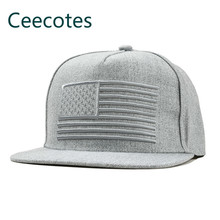 Flag Embroidery Hip-hop Catamite Hats Spring Men And Women Winter Children Baseball Hat Parenting Parent-child Cap