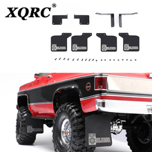 High Quality RC Car Front & Rear Mud Flaps 1/10 RC Crawler Traxxas Trx-4 Chevrolet K5 New RC Car Rubber Fender for TRX4 1:10 1 10 rc car simulation climbing car led light system for traxxas trx 4 trx4