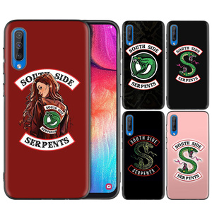 Silicone Case Cover for Samsung Galaxy A9 5G A7 A9 2018 A10 A20 A30 A40 A50 A60 A70 A10E A20E A10S A30S Riverdale South Side Ser(China)