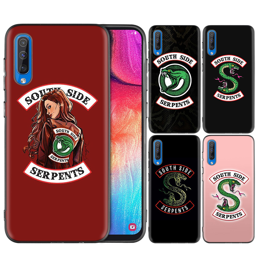 Silicone Case Cover for Samsung Galaxy A9 5G A7 A9 2018 A10 A20 A30 A40 A50 A60 A70 A10E A20E A10S A30S Riverdale South Side Ser