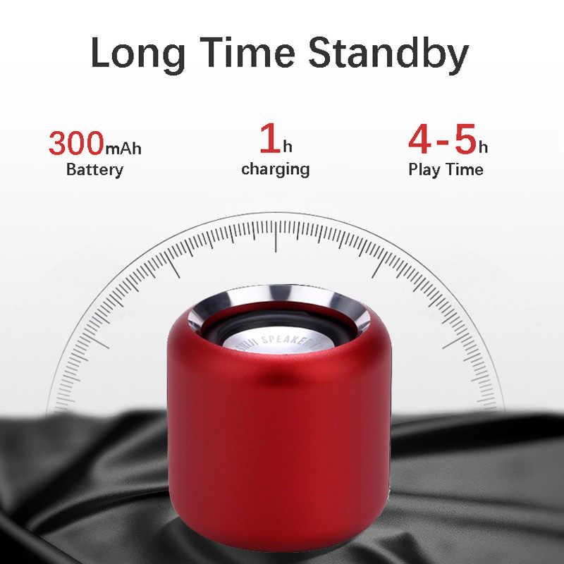 Super-Mini Draagbare Bluetooth Speaker Beste Geluid Bass Remote Shutter Control Kleine Draadloze Speaker Boombox Voor Iphone Xiaomi
