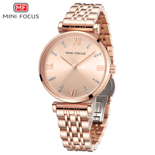 MINIFOCUS Dress Watches Women Top Brand Luxury Casual Clock