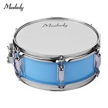 Muslady 12 pouces tête de caisse claire avec pilons bandoulière clé de tambour pour étudiant bande instrument de percussion vente chaude