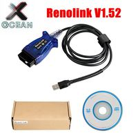 Renolink V1.52 For Renault ECU Programmer Reno Link OBD2 Key Programming Airbag Reset flash reading&writing tool support french|Car Diagnostic Cables & Connectors| |  -