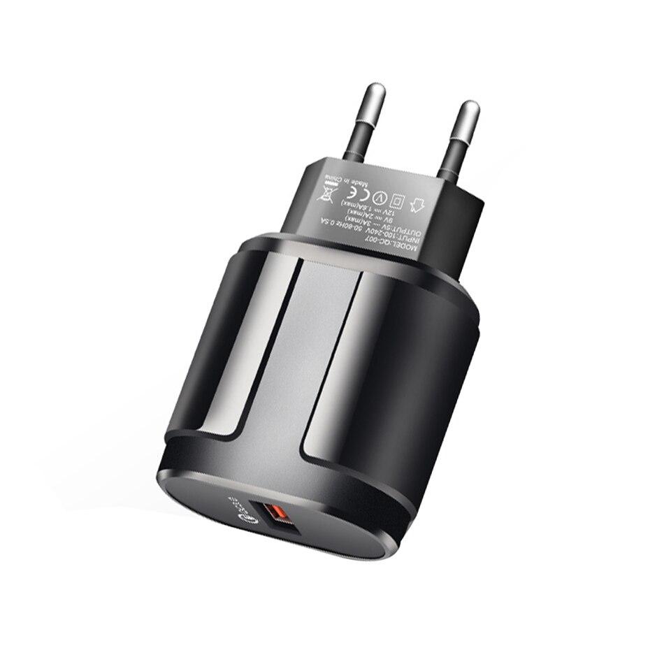 Быстрая зарядка QC3.0 USB US EU быстрое зарядное устройство Универсальный мобильный телефон зарядное устройство настенное USB зарядное устройств...