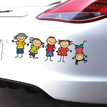 Autocollant de voiture pour enfants garçon fille | Étiquette de voiture, pour le corps, style de voiture, drôle et mignon, 1 pièce