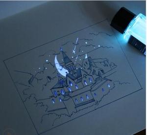 Image 4 - 18Ml/ขวดประภาคารที่มองไม่เห็นหมึกสำหรับปากกาน้ำพุNon คาร์บอนหมึกเรืองแสง,เท่านั้นที่มองเห็นได้ภายใต้แสงUV,ปากกาน้ำพุ