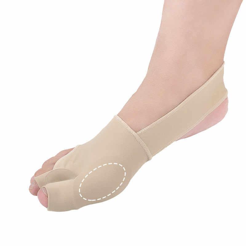 1pair S/L SEBS Big Toe Borsite Splint Raddrizzatore Corrector Foot Pain Relief Alluce Valgo per Entrambi I Piedi terapia Facile da Indossare