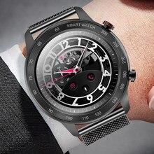 LIGE2021 Men's Smart Watch Women's Multifunctional Sports Watch Bluetooth Call IP68 Waterproof Heart Rate Monitoring Smart Watch