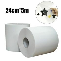 5 м/рулон 5 м x 24 см Широкий прозрачный знак виниловая клейкая лента прозрачная вязкость клейкая переводная бумага сделай сам поделки материа...