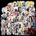 100 шт. аниме Narutos Akatsuki Sasuke Itachi Kakashi Gaara наклейки для рюкзака Сделай Сам Водонепроницаемый скейтборд чемодан игрушка Подарки