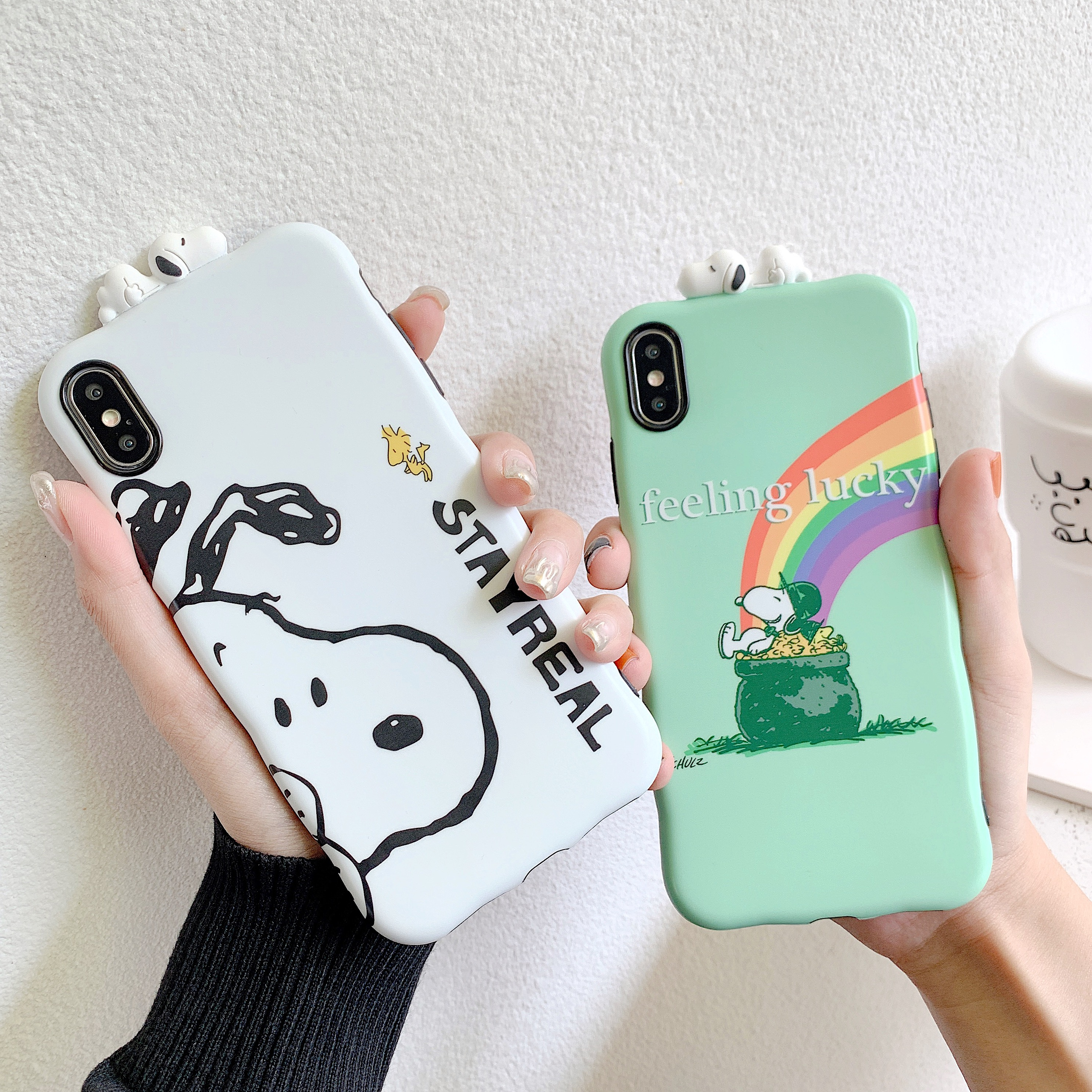 New Wave Style Lovely Dog Hot Japan Cartoon Iphone XR Cute Cover Funda Iphone 11 Pro Max 3D Toy Iphone 7 8 Plus X XS 11 XS Max