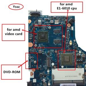 Image 3 - משלוח מהיר, חדש לגמרי, 5B20F77237 NM A281 mainboard עבור Lenovo G50 45 האם מחשב נייד עם E1 6010 מעבד + GPU 100% על אישור בדיקה