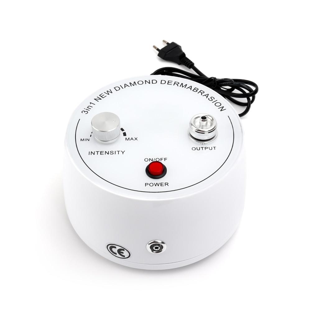 3 In 1 Diamond Microdermabrasion Dermabrasion Machine Water Spray Exfoliation Machine Wrinkle Facial Peeling Beauty Device SPA
