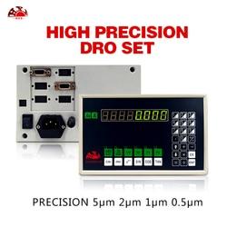 Melhor preço único eixo dro com alta precisão 50-1000mm 5um digital linear escalas codificador/sensor/transdutor para torno