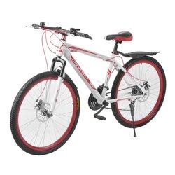 Bicicleta de disco delantera y trasera de 26 pulgadas X 17 pulgadas bicicleta de montaña de 30 círculos de velocidad Variable MTB bicicleta de carreras de carretera