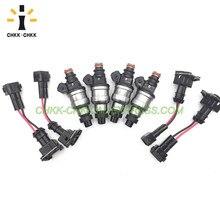 CHKK-CHKK 550cc Fuel Injector for Honda D16 D18 B16 B18 B20 F22 H22 H22A 42LB EV1