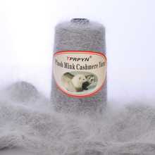 TPRPYN Hilo de lana de visón para tejer, ovillo de lana de Cachemira de visón, hilo de ganchillo, 200 g/lote, NL164R147