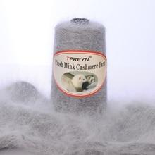 Tprpyn 200グラム/ロット送料無料でパートナー糸糸ニットミンクカシミヤウール糸ミンク編み物ラインニットNL164R147