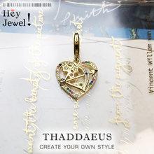 Ciondolo con ciondolo cupido freccia oro 2020 nuovo regalo di gioielli In europa in argento Sterling 925 braccialetto adatto giocosamente facile da amare