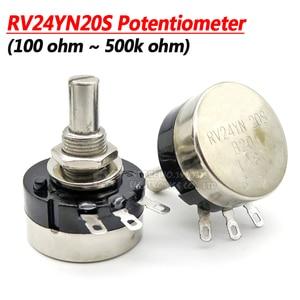 1PCS RV24YN20S B201 B501 B102 B202 B502 B103 B203 B503 B104 B204 B254 B504 B105 500 ohm 10K 20K 50K 100K 200K ohm Potentiometer(China)
