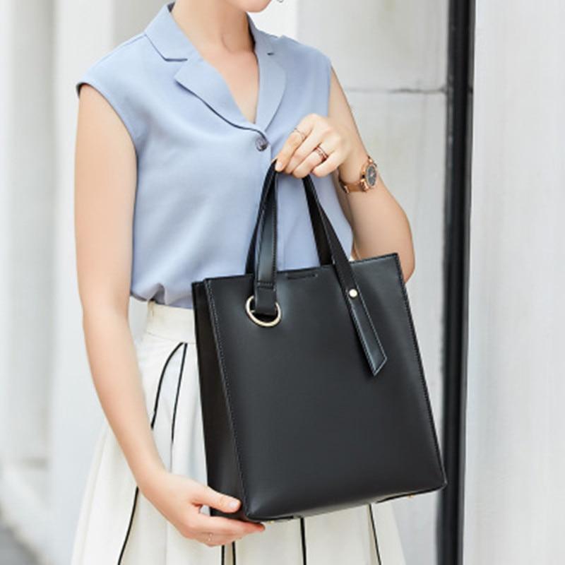Casual Leather Women's Handbag 2020 New Luxury Women Shoulder Bags Designer Female Crossbody Messenger Bag Lady Totes Bag Femme