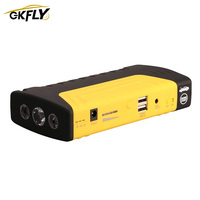 GKFLY Emergency  Car Jump Starter Power Bank 12V Portable Starting Device Car Charger For Car Battery Booster Buster LED