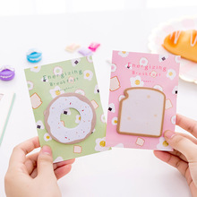 10 Pcs Creative Memo Pad Planner Sticker Cute Sticky Note Office Kawaii Stationery Post Bookmark Stationery Label Stickers