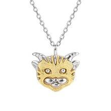 925 Original Sterling Silver Necklaces For Women Kolye Zodiac Cute Animal Pendant Choker Necklace Statement Kolye Fine Jewelry