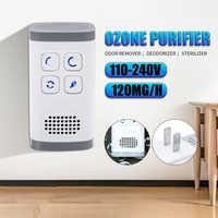 gerador de ozonio ionizador AC110-240v ionizador purificador de aire generador filtro generador de ozono purificación hogar inodoro desodorizador de mascotas