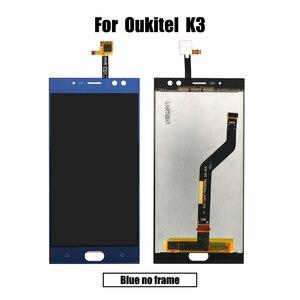 Image 5 - BingYeNing 5,5 pulgadas para Oukitel K3 LCD y Digitalizador de pantalla táctil con marco de pantalla accesorios de teléfono herramientas de repuesto de montaje