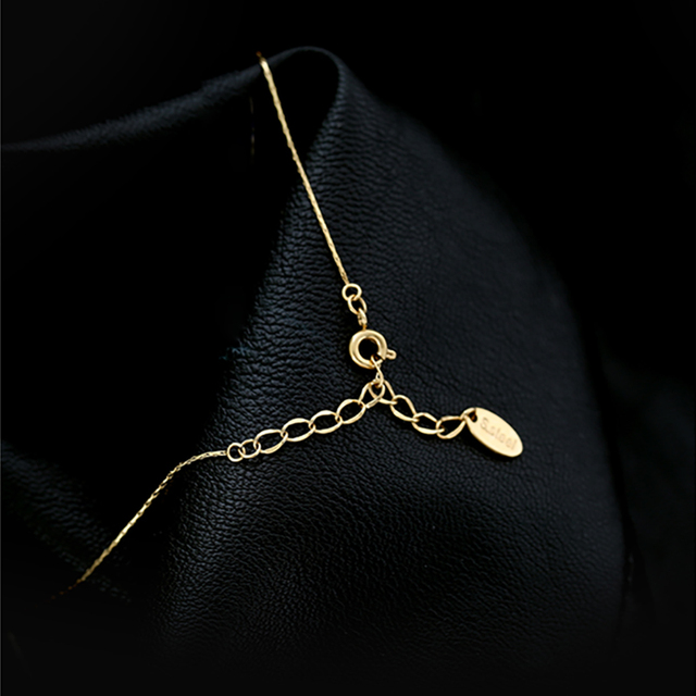 Gold Plated Neck Choker With Shiny Zircon  6