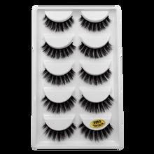 Новые 5 пар Мультипак 3D норковые накладные ресницы мягкие ресницы пушистые длинные ресницы натуральные инструменты для макияжа глаз Искусс...